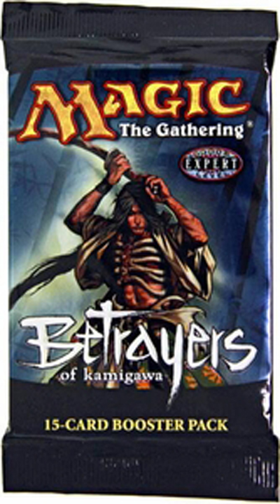 Booster: Betrayers of Kamigawa