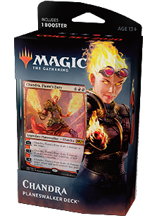 Planeswalker Deck - Chandra, Flame's Fury