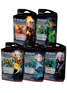 Planeswalker Deck - M20 Set of 5