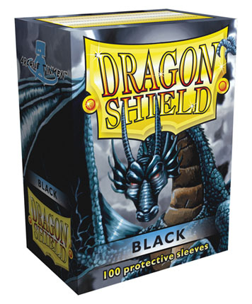 Arcane Tinmen Dragon Shield Black