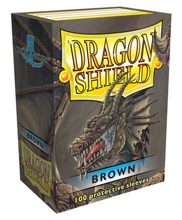 Arcane Tinmen Dragon Shield Brown