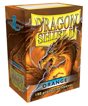Arcane Tinmen Dragon Shield Orange