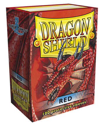Arcane Tinmen Dragon Shield Red