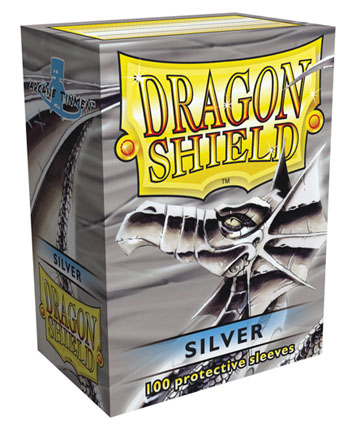 Arcane Tinmen Dragon Shield Silver