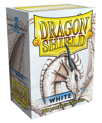 Arcane Tinmen Dragon Shield White