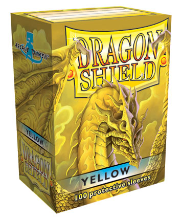 Arcane Tinmen Dragon Shield Yellow