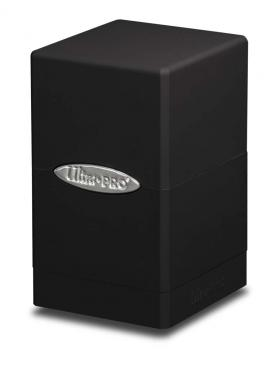 Ultra Pro Satin Tower Deck Box - Black