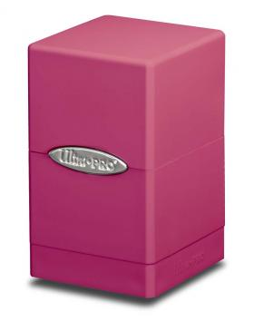 Ultra Pro Satin Tower Deck Box - Bright Pink
