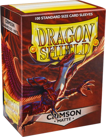 Arcane Tinmen Dragon Shield Matte Crimson