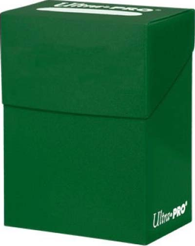 Ultra Pro Solid Color Deck Box - Forest Green