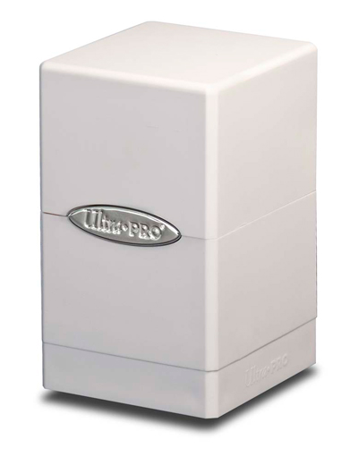 Ultra Pro Satin Tower Deck Box - White