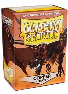 Arcane Tinmen Dragon Shield Matte Copper