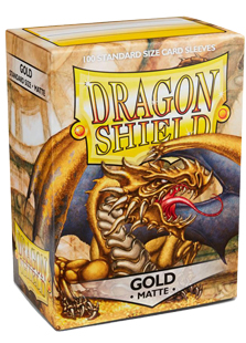 Arcane Tinmen Dragon Shield Matte Gold
