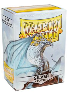 Arcane Tinmen Dragon Shield Matte Silver