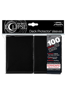 Ultra Pro: Pro-Matte Eclipse Black 100ct