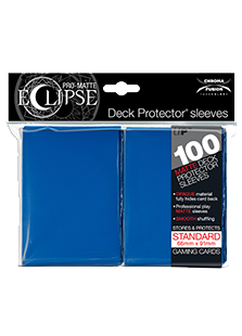 Ultra Pro: Pro-Matte Eclipse Blue 100ct