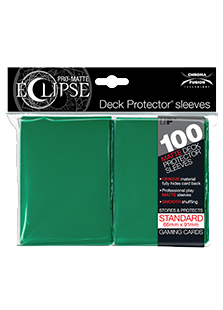 Ultra Pro: Pro-Matte Eclipse Green 100ct