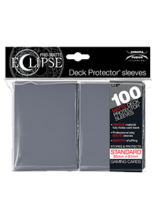 Ultra Pro: Pro-Matte Eclipse Grey 100ct