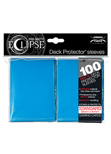 Ultra Pro: Pro-Matte Eclipse Light Blue 100ct