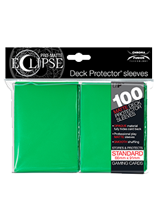Ultra Pro: Pro-Matte Eclipse Light Green 100ct