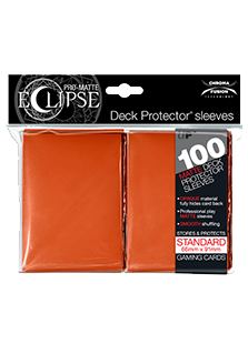 Ultra Pro: Pro-Matte Eclipse Orange 100ct