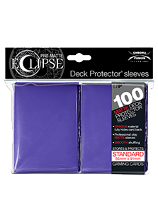 Ultra Pro: Pro-Matte Eclipse Purple 100ct