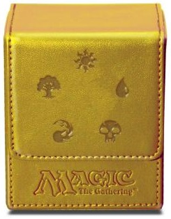 Ultra Pro Mana Flip Deck Box - Gold