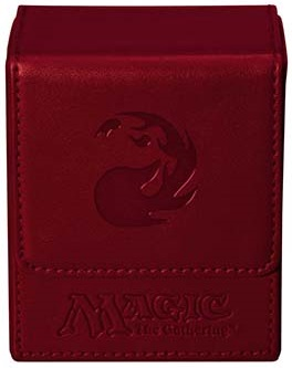 Ultra Pro Mana Flip Deck Box - Red