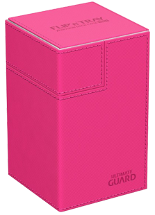Ultimate Guard Flip'n'Tray 100+ - Pink