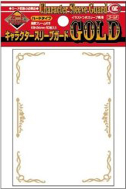 KMC Character Sleeve - Gold
