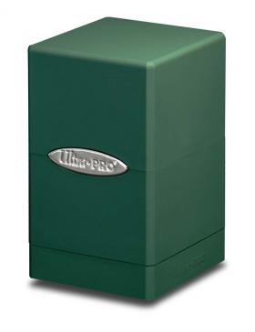Ultra Pro Satin Tower Deck Box - Green