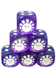 Hareruya Aurora Purple Dice