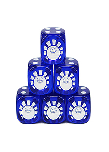 Hareruya Original Clear Blue Dice