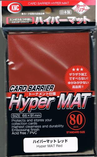 KMC Hyper Mat Red