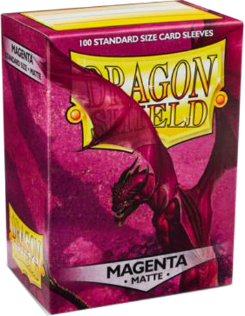 Arcane Tinmen Dragon Shield Matte Magenta