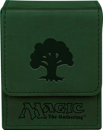 Ultra Pro Mana Flip Deck Box - Galaxy Green