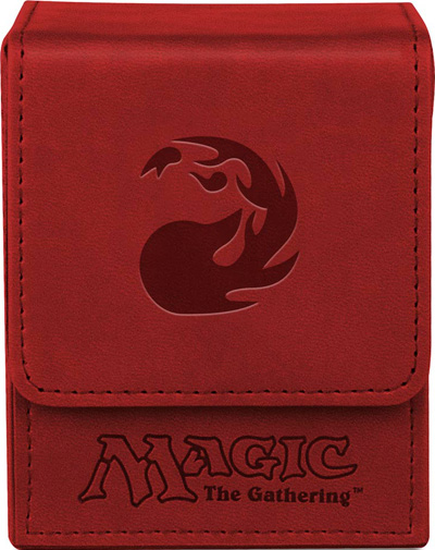 Ultra Pro Mana Flip Deck Box - Galaxy Red