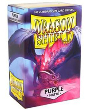 Arcane Tinmen Dragon Shield Matte Purple