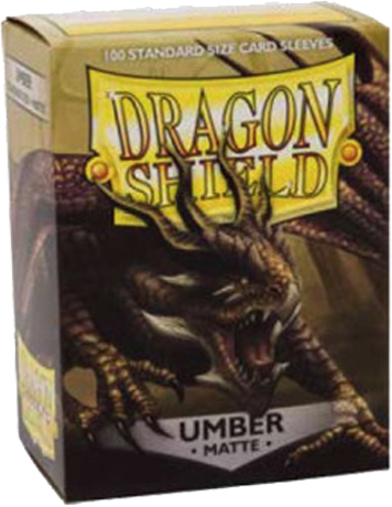 Arcane Tinmen Dragon Shield Matte Umber