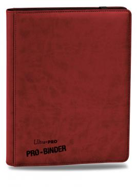 Ultra Pro Premium ProBinder Red