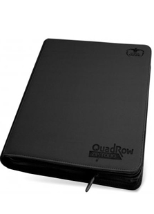 Ultimate Guard Quadrow Zipfolio Black
