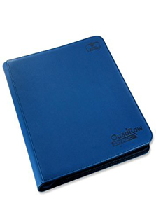 Ultimate Guard Quadrow Zipfolio Dark Blue