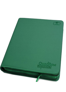 Ultimate Guard Quadrow Zipfolio Green