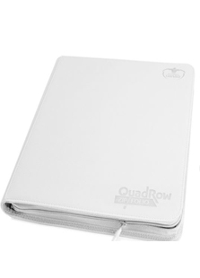 Ultimate Guard Quadrow Zipfolio White