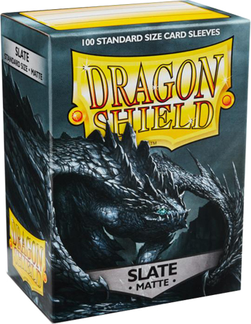 Arcane Tinmen Dragon Shield Matte Slate