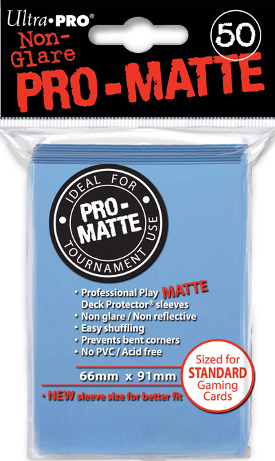 Ultra Pro: Pro Matte Light Blue