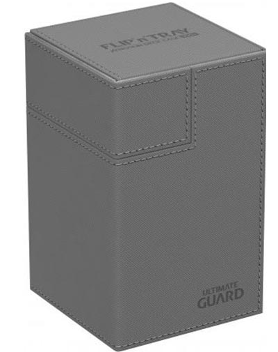 Ultimate Guard Flip'n'Tray 100+ - Grey