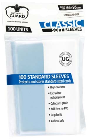 Ultimate Guard Standard Soft Sleeve