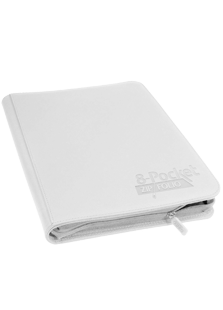Ultimate Guard 8-Pocket ZipFolio White