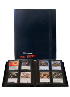 Ultra Pro 4-Pocket ProBinder Black